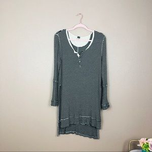 We the free long tunic top